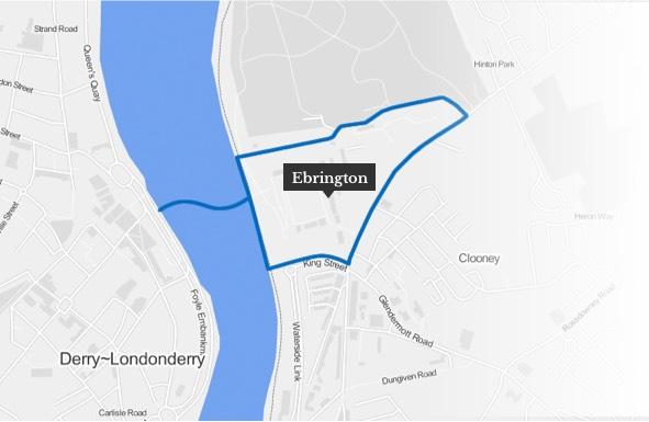 Ebrington Map
